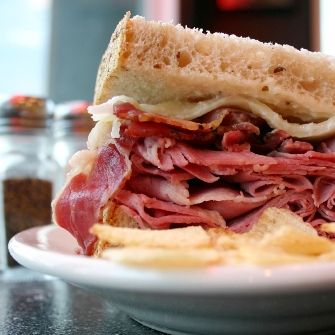 Oakmont Deli Boar's Head Sandwich